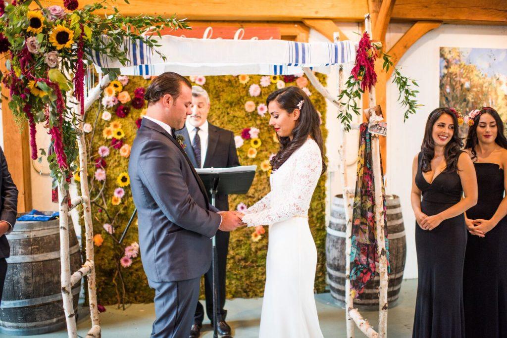 Intimate Jedidiah Hawkins Inn Wedding Kaitlyn Ferris New York Intimate Ceremony