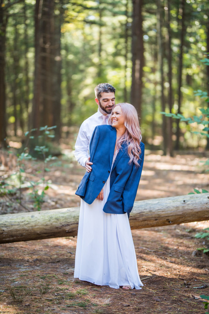 Ethereal Engagement Session Kaitlyn Ferris Photography Long Island Wedding Photographer