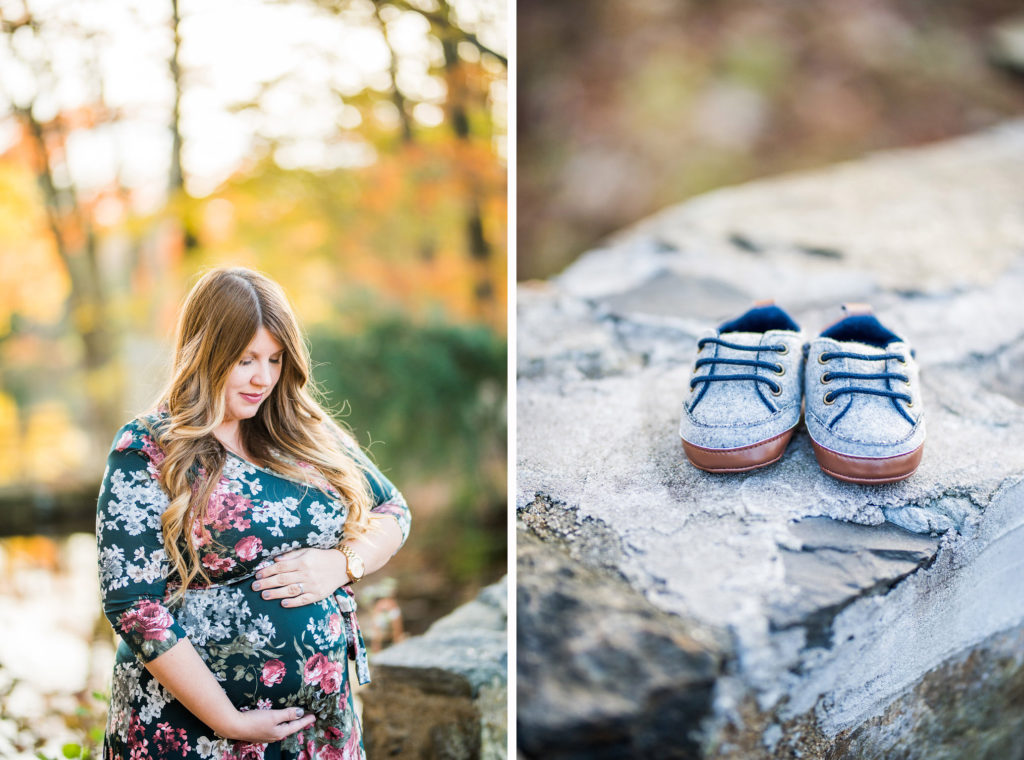 Autumn Maternity Session Kaitlyn Ferris Photography Long Island Wedding Photographer