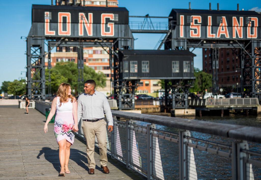 Long Island City Engagement Shoot | Gantry Park Engagement Shoot | Long Island Wedding Photographer10