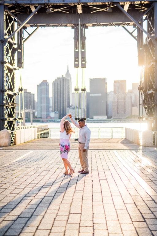 Long Island City Engagement Shoot | Gantry Park Engagement Shoot | Long Island Wedding Photographer16