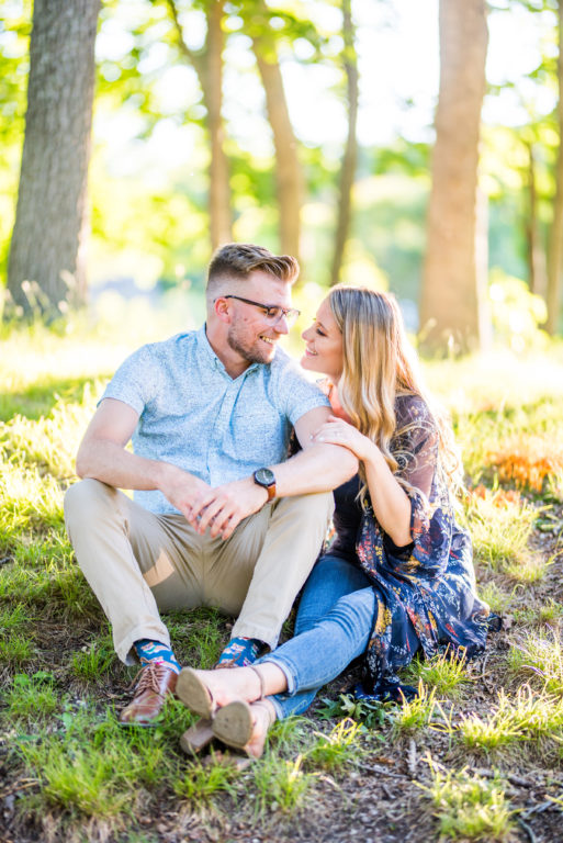Peconic Herb Farrm Engagement Shoot Long Island Wedding Photographer17