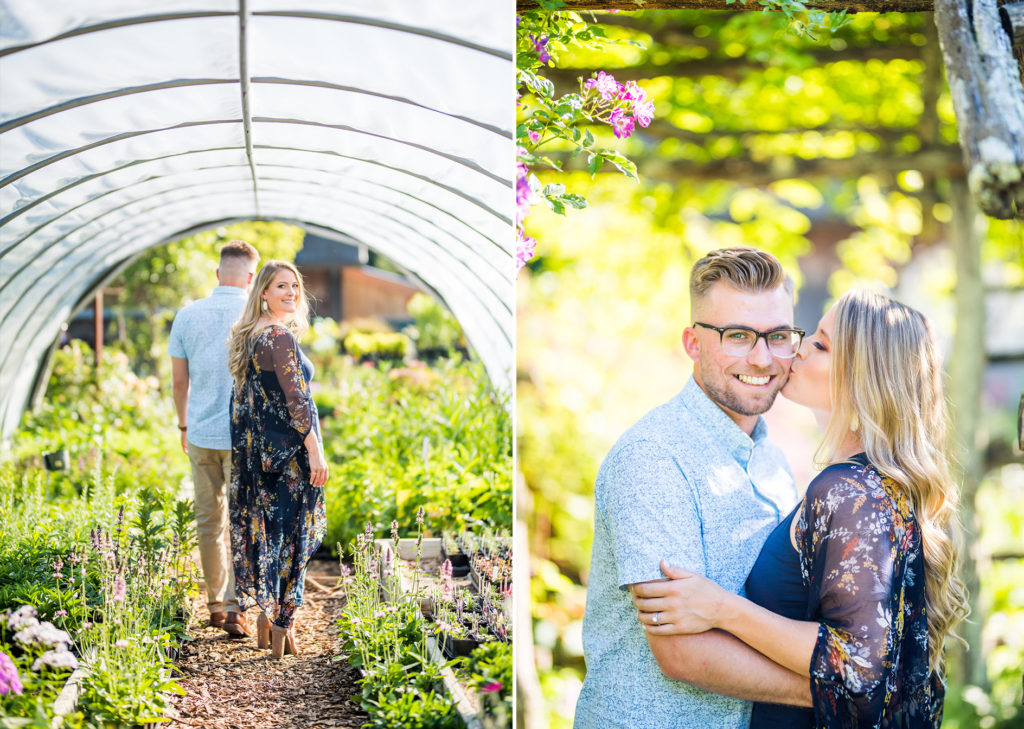 Peconic Herb Farrm Engagement Shoot Long Island Wedding Photographer19