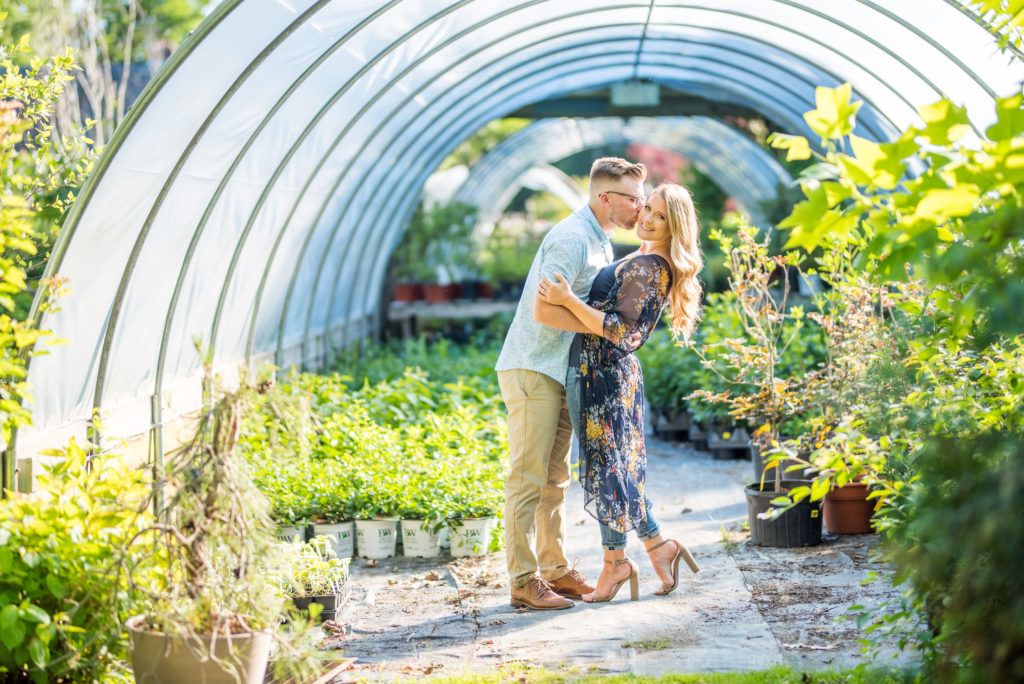 Peconic Herb Farrm Engagement Shoot Long Island Wedding Photographer3