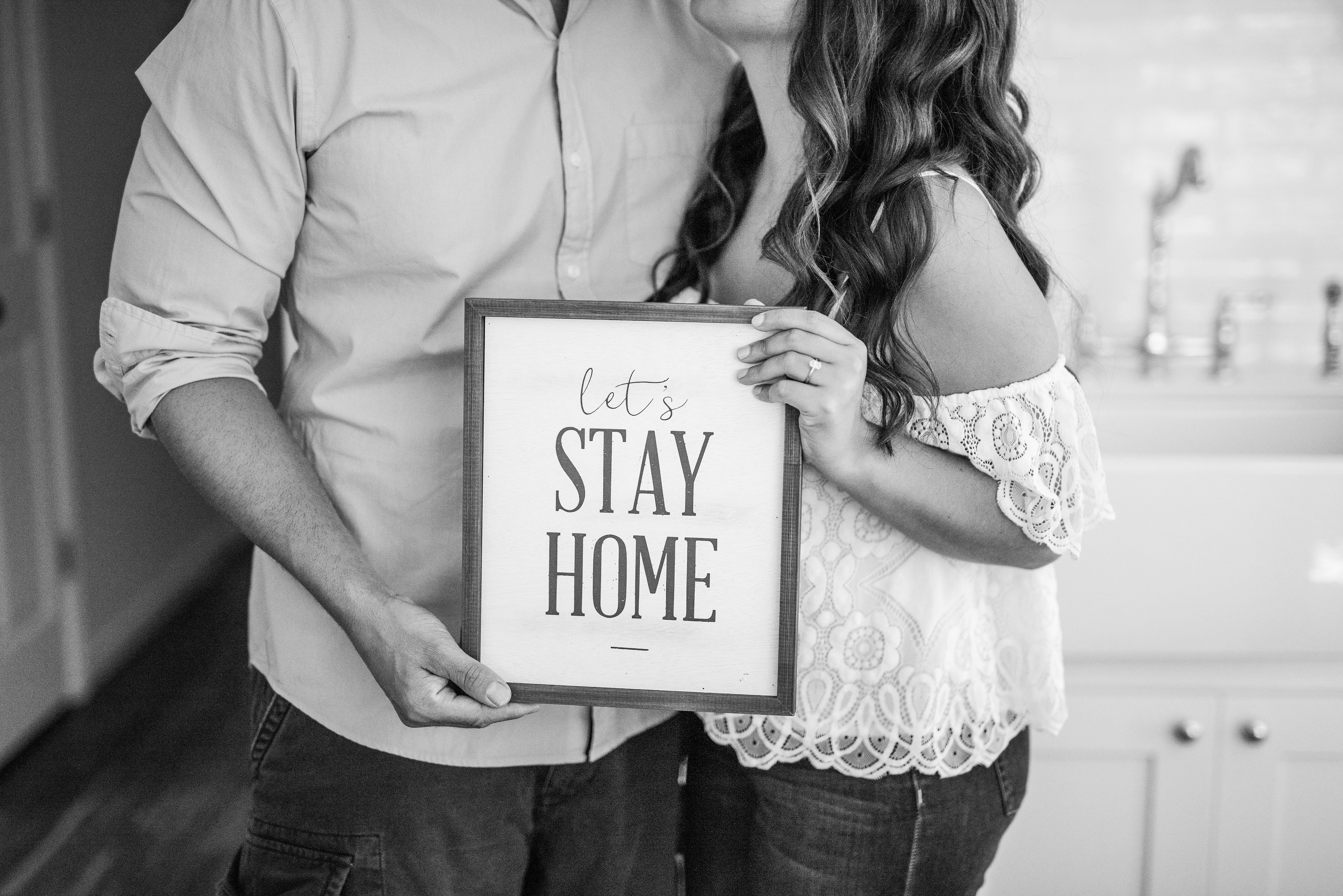 Calverton Engagement Shoot | Engagement Shoot at Home | Rustic Farrm Kitchen Engagement Shoot | North Forrk Wedding Photographer11