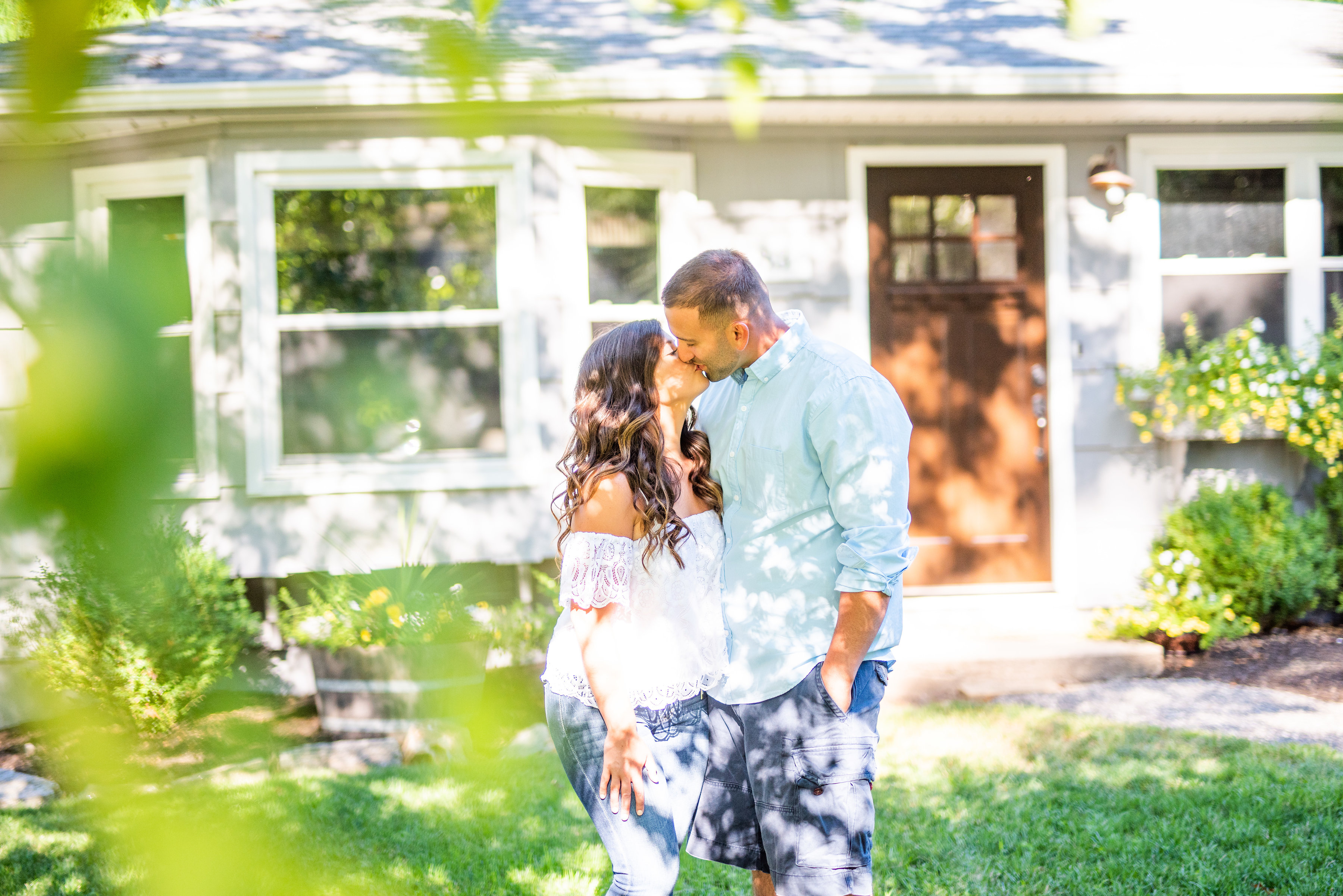 Calverton Engagement Shoot | Engagement Shoot at Home | Rustic Farrm Kitchen Engagement Shoot | North Forrk Wedding Photographer17