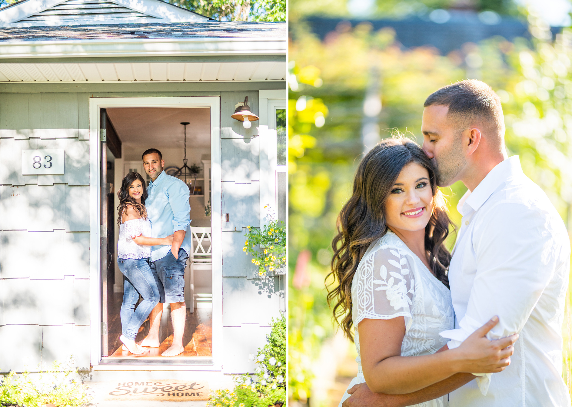 Calverton Engagement Shoot | Engagement Shoot at Home | Rustic Farrm Kitchen Engagement Shoot | North Forrk Wedding Photographer5