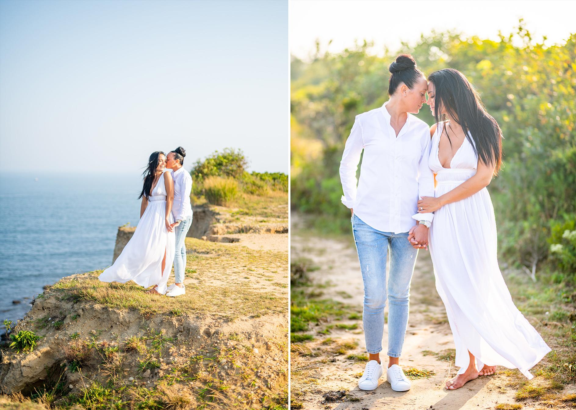 Camp Hero Engagement Shoot | Montauk Engagement Shoot | Montauk Engagement Photos | Hamptons Wedding Photographer2