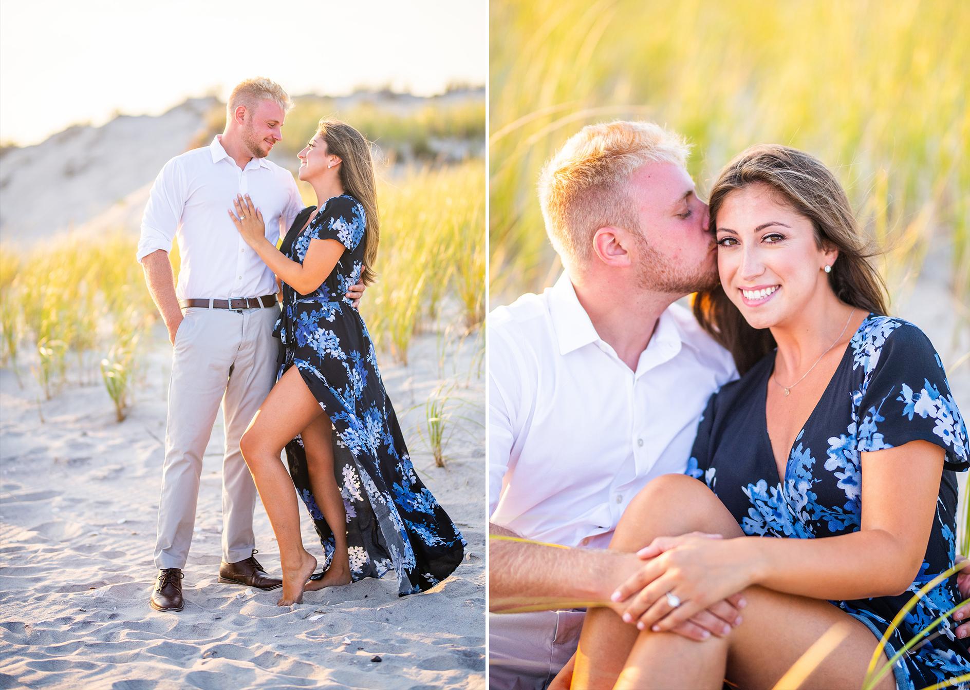 Dune Road Engagement Shoot | Westhampton Beach Engagement Shoot | Hamptons Wedding Photographer3