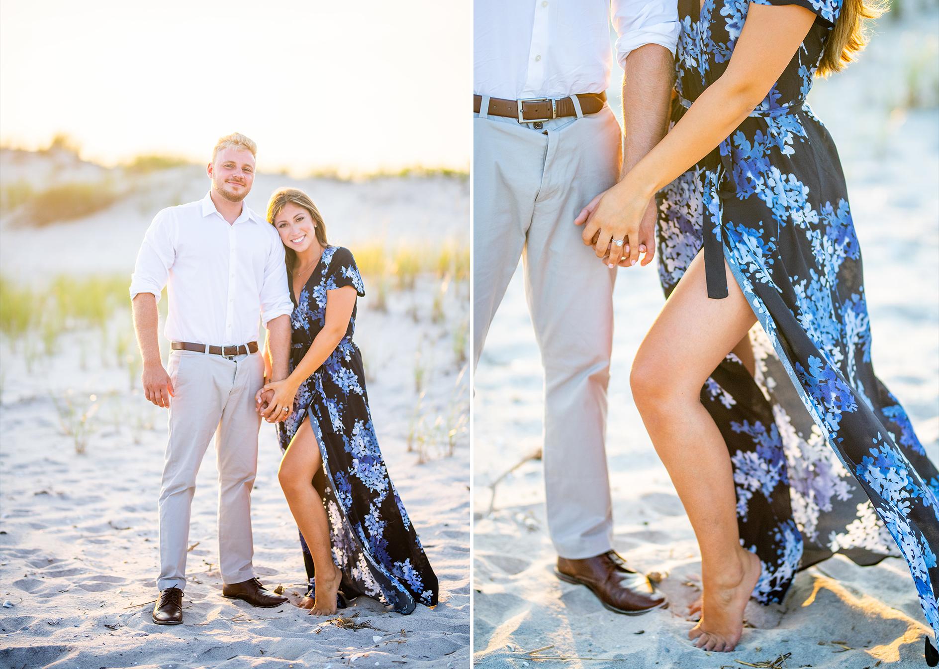 Dune Road Engagement Shoot | Westhampton Beach Engagement Shoot | Hamptons Wedding Photographer5