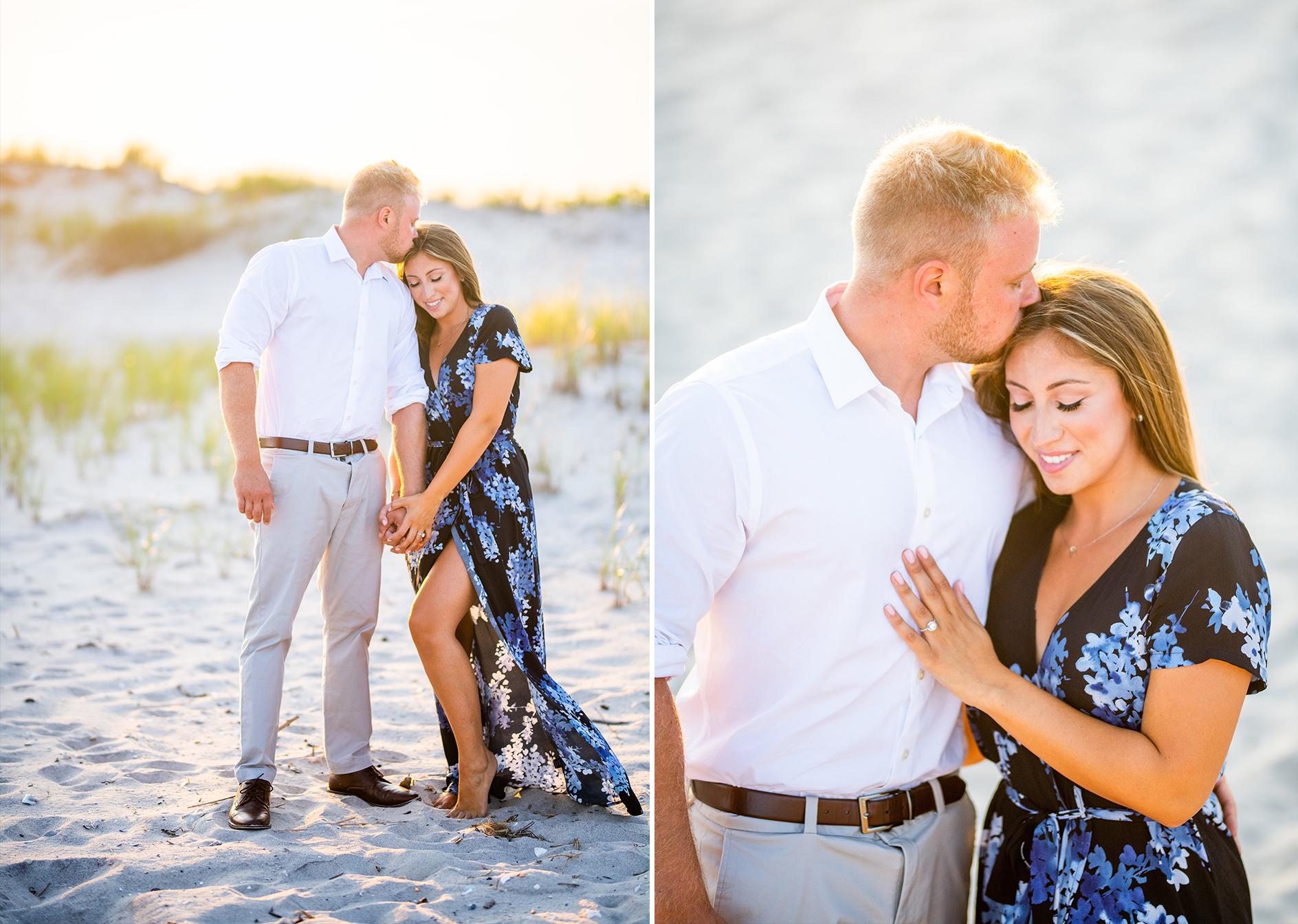 Dune Road Engagement Shoot | Westhampton Beach Engagement Shoot | Hamptons Wedding Photographer6