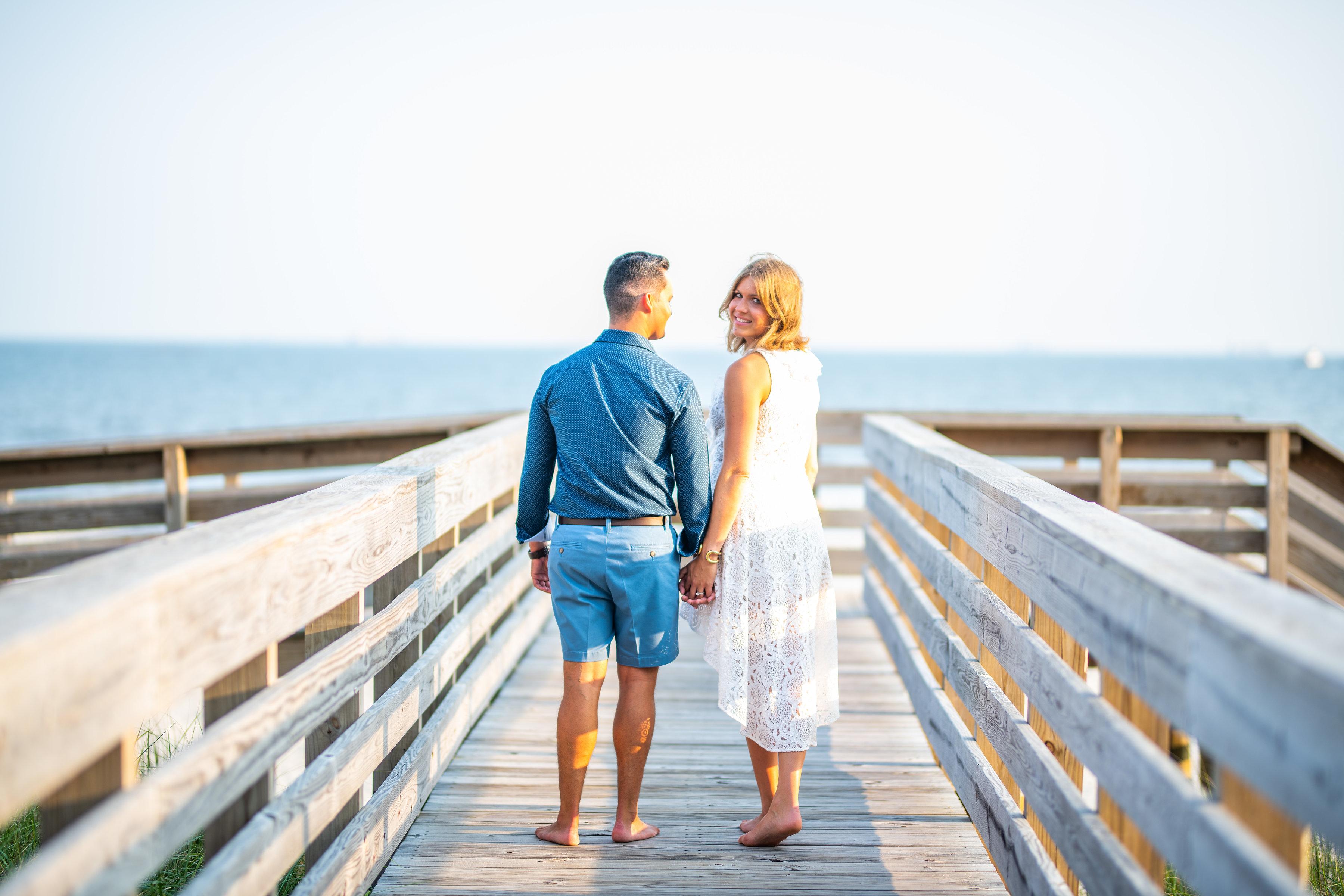Long Beach NY Engagement Shoot | Long Beach Boardwalk Engagement Shoot | Long Island Wedding Photographer 11