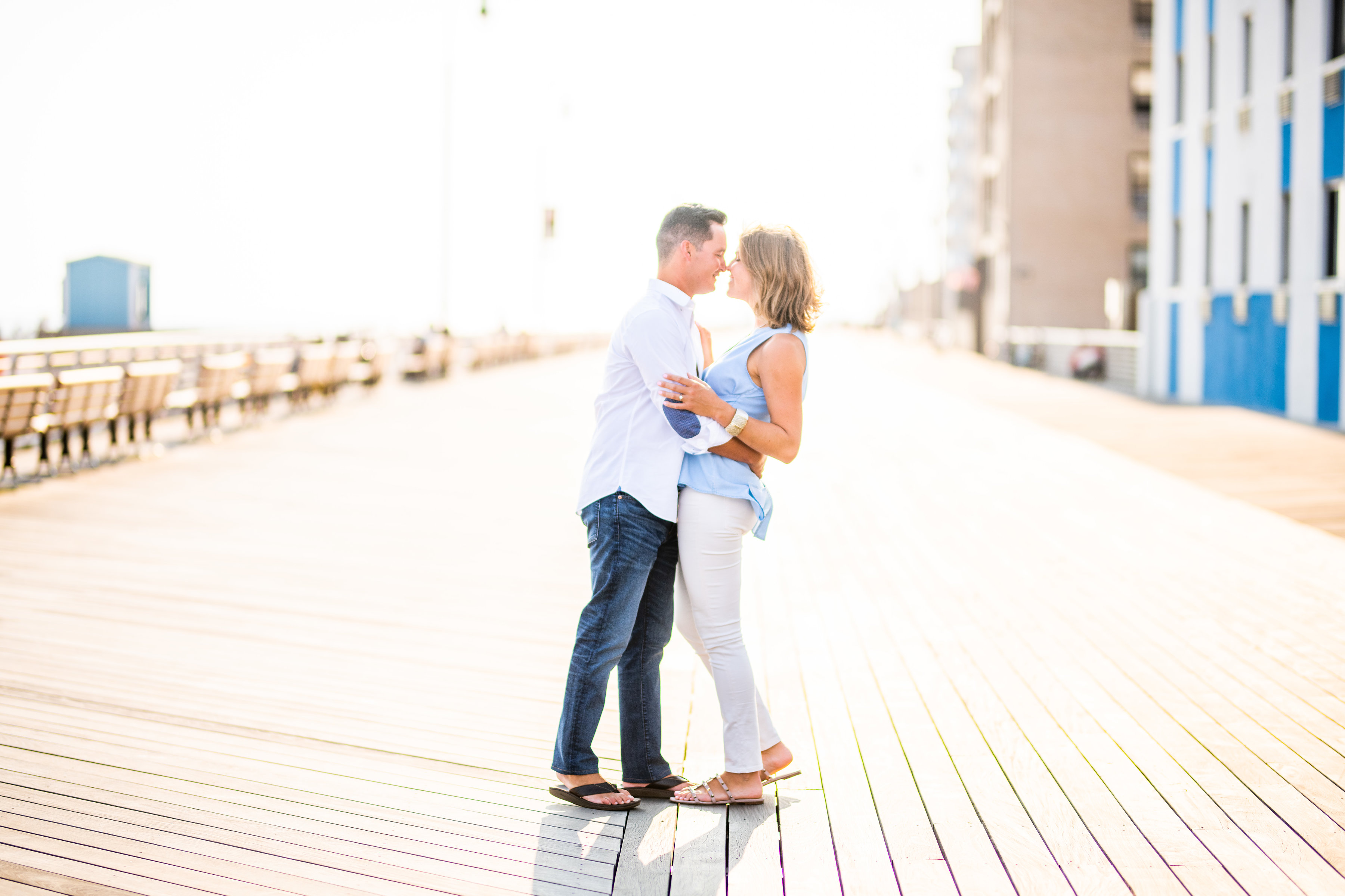 Long Beach NY Engagement Shoot | Long Beach Boardwalk Engagement Shoot | Long Island Wedding Photographer 19