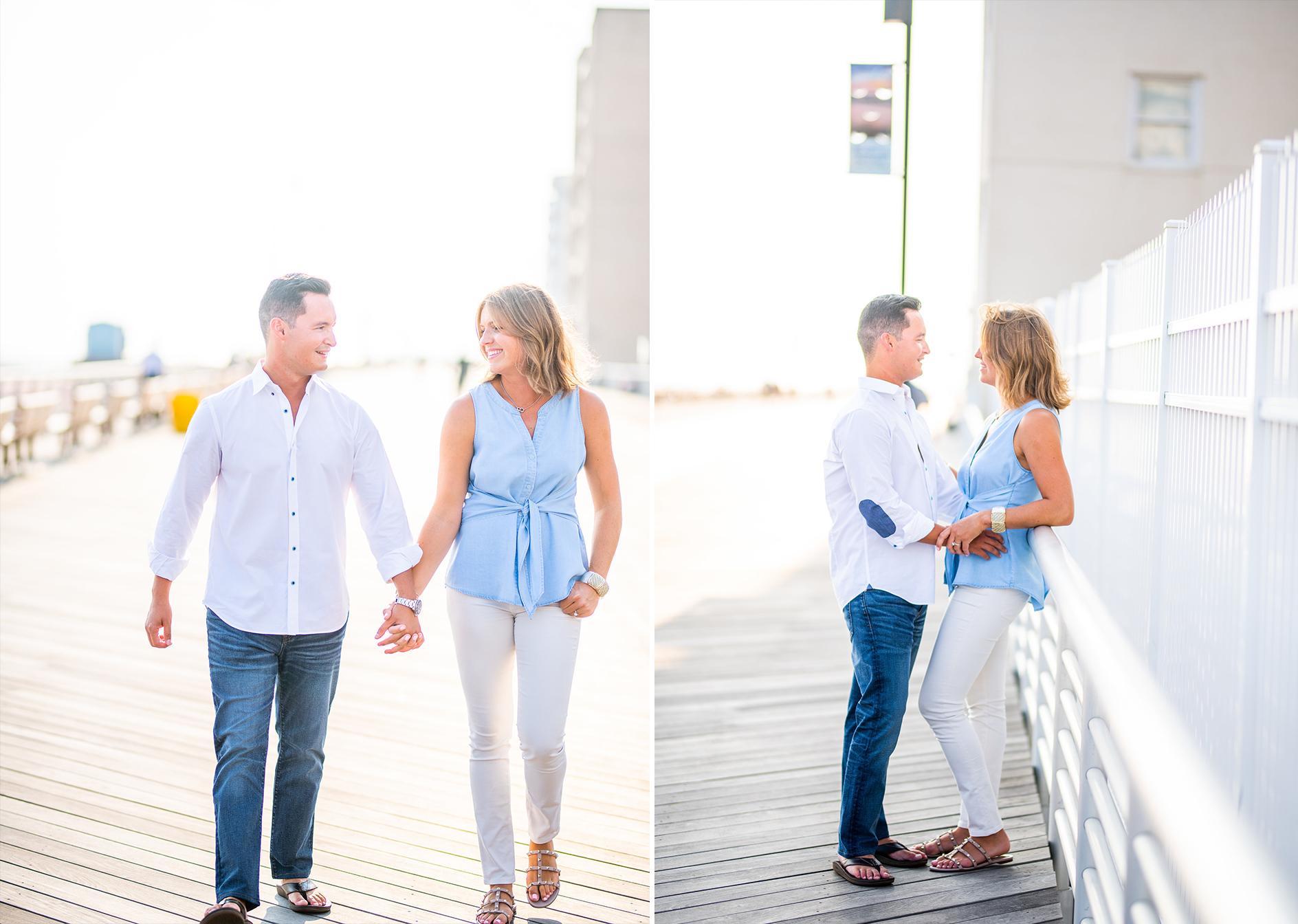 Long Beach NY Engagement Shoot | Long Beach Boardwalk Engagement Shoot | Long Island Wedding Photographer 24