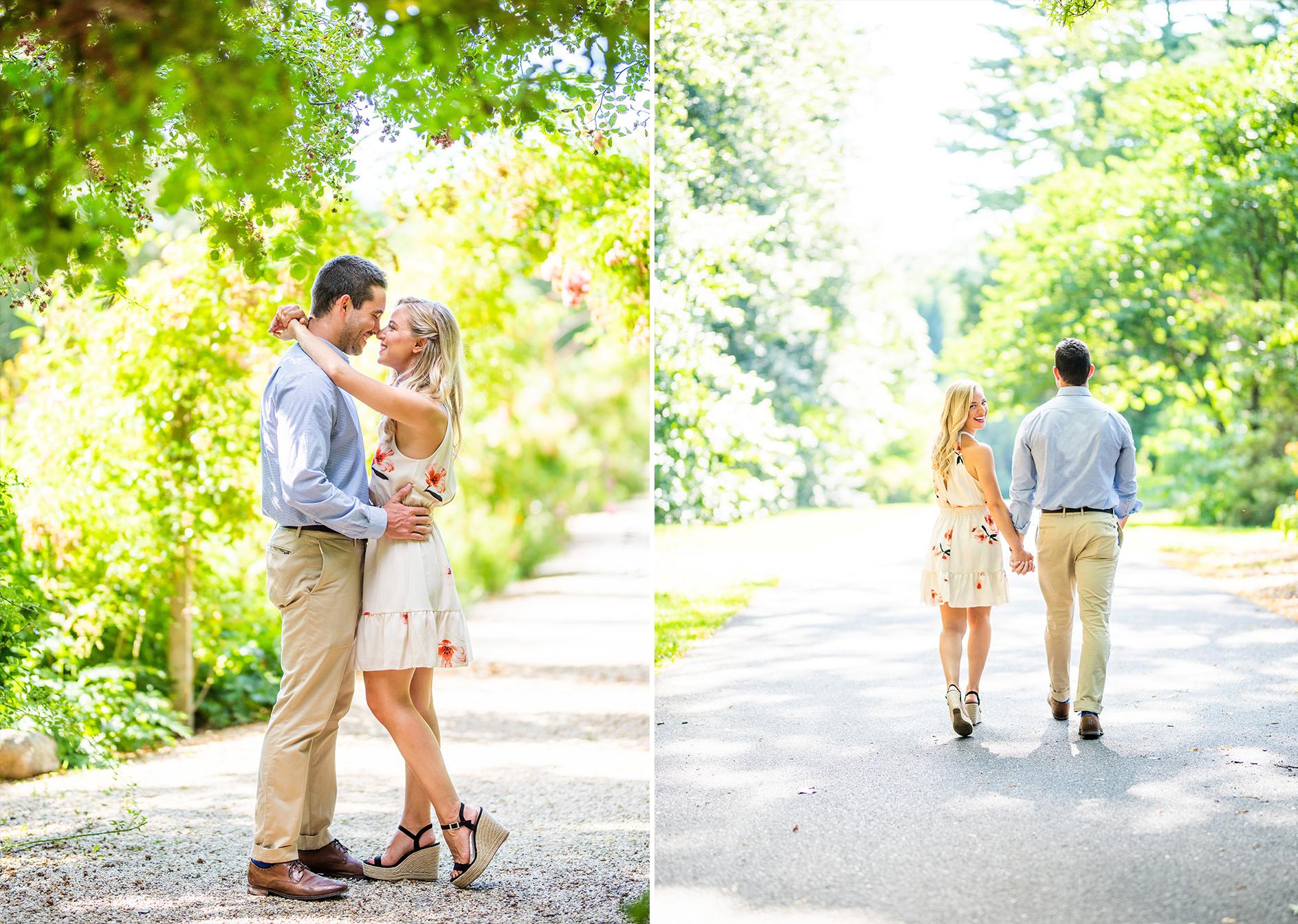 Planting Fields Arboretum Engagement Shoot | Oyster Bay Engagement Shoot | Long Island Wedding Photographer8