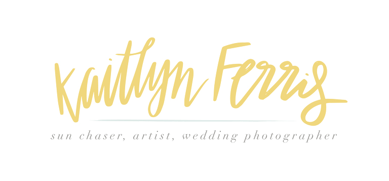Kaitlyn Ferris Wedding Photography